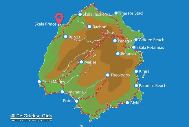 Karte Skala Prinos
