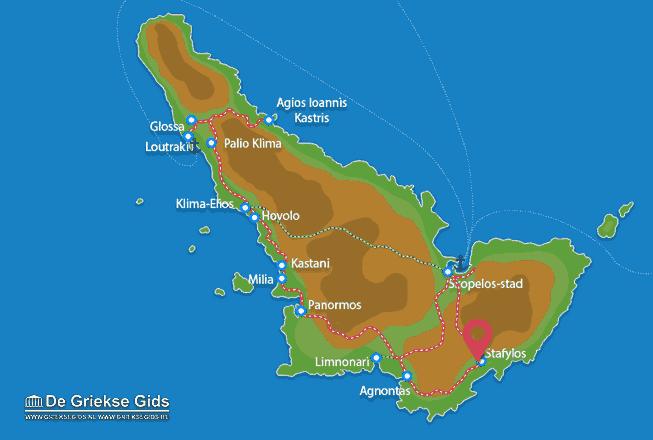 Karte Stafylos