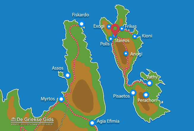 Karte Stavros