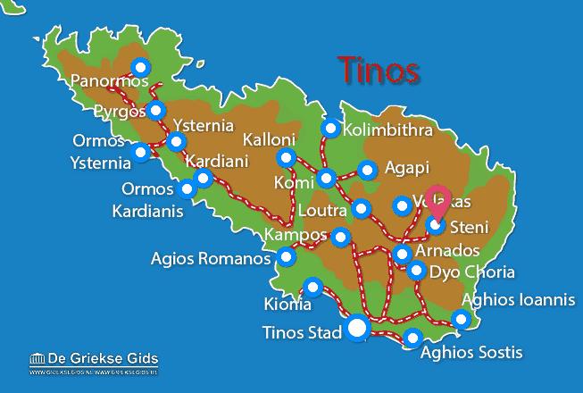 Karte Steni