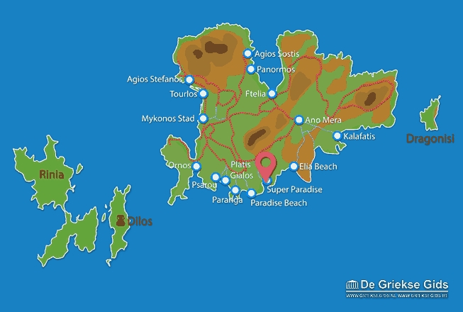Karte Super Paradise