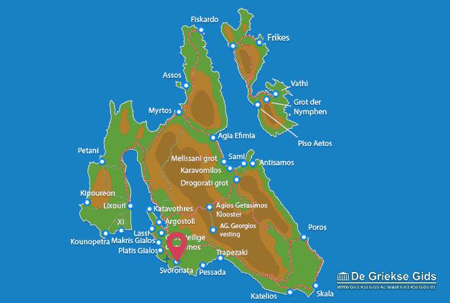 Karte Svoronata