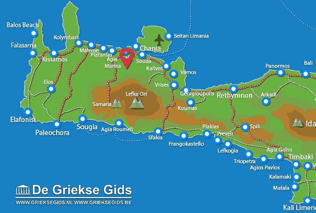 Karte Varipetro