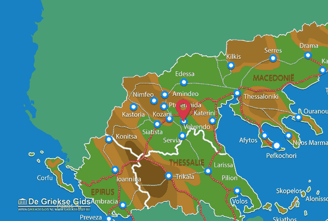 Karte Velvendo