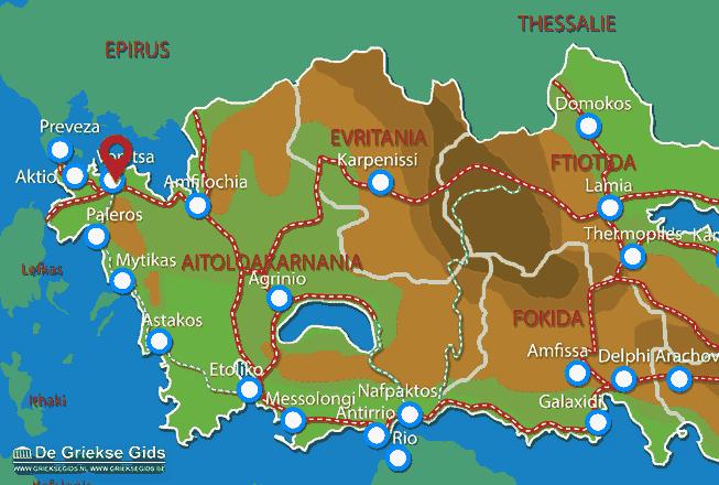 Karte Vonitsa