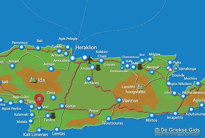 Karte Vori