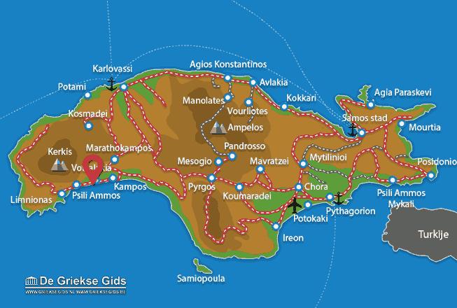 Karte Votsalakia