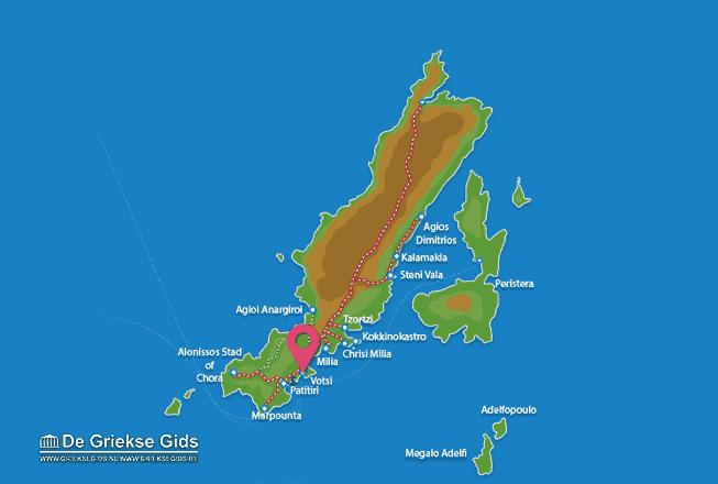 Karte Votsi