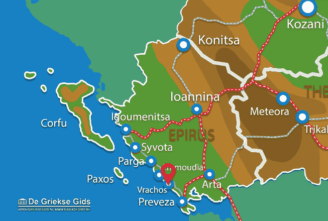 Karte Vrachos
