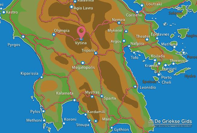Karte Vytina