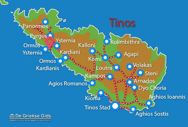 Karte Ysternia