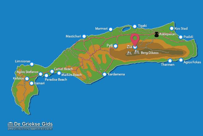 Karte Zia