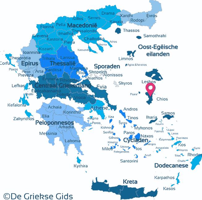Karte Chios