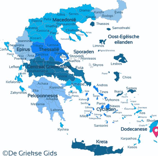 Karte Kastellorizo