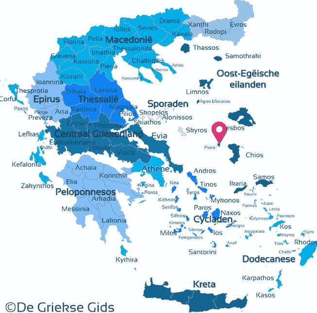 Karte Psara